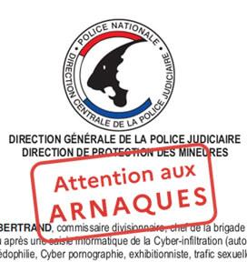 Recrudescence de messages usurpant l'identité de la Police et de la Gendarmerie