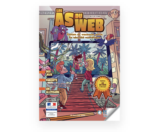 Les As du Web, un cahier de vacances pour la sécurité numérique